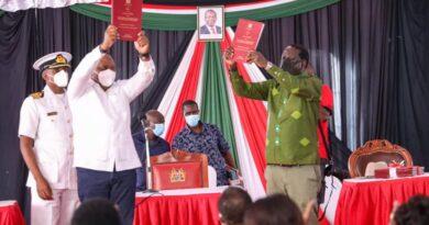 Kenya: Urukiko rwahagaritse umushinga wo guhindura itegeko nshinga uzwi nka BBI